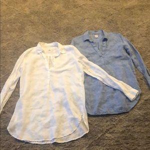Gap linen tunic bundle of 2 M (1596R)